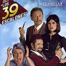 "Obra de teatro ""39 escalones"". Estudio Goya"