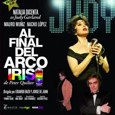 """Obra de teatro """"Al final del arco iris"""". Estudio Goya"""