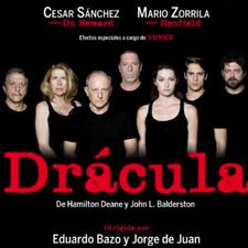 "Obra de teatro ""Drácula"". Estudio Goya"
